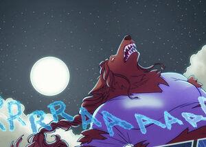 Magic and lore werewolf