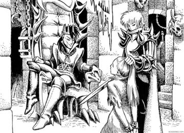 Dark elf king