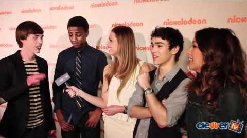 How to Rock Cast Interview - 2012 Nickelodeon Upfronts