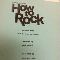 How to Rock Halloween script