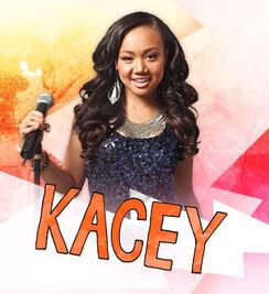 Character large kacey