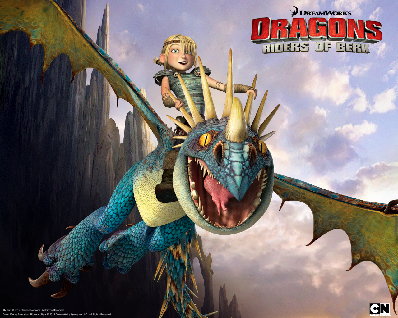 Dragons Wallpaper Astridstormfly 1 1280x1024