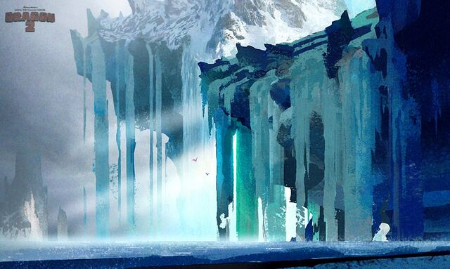 Image - HTTYD glacier concept.jpg | How to Train Your ... | 640 x 383 jpeg 53kB