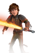 Httyd 2 Hiccup with Inferno