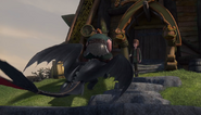 Stoick on Toothless - How to Pick Your Dragon