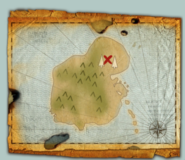 Harald's Ransom Note Map Hobblegrunt Island