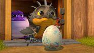 HA - Cutter pushing an egg towards a slinkwing