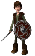 Hiccup transparent sword and shield