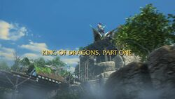 King of Dragons, Part 1 title card