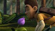 SP - Elbone sniffing the flower