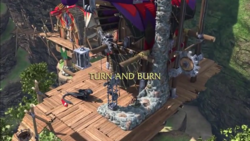 Turn and Burn title card