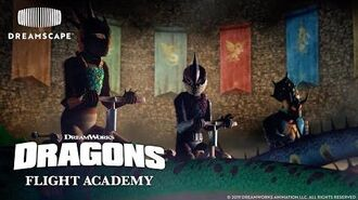 DREAMWORKS DRAGONS FLIGHT ACADEMY Official Trailer