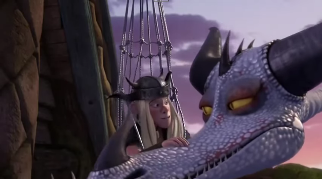 Zippleback down how to train your dragon wiki fandom powered by proves it to him by raising torchs wings snotlout gets smack in the face and falls onto a wheelbarrow causing him to roll away through the village ccuart Images