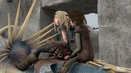 Astrid telling Hiccup not to worry