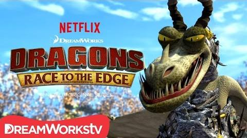 A New Dragon Revealed The Armor Wing DRAGONS RACE TO THE EDGE