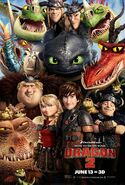 HTTYD 2 last poster