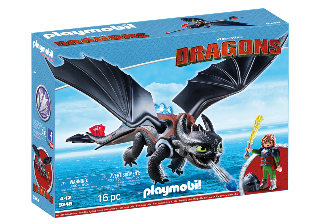 Image - Playmobil-Hiccup-Toothless2.png | How to Train Your Dragon ...