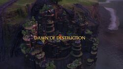 Dawn of Destruction title card