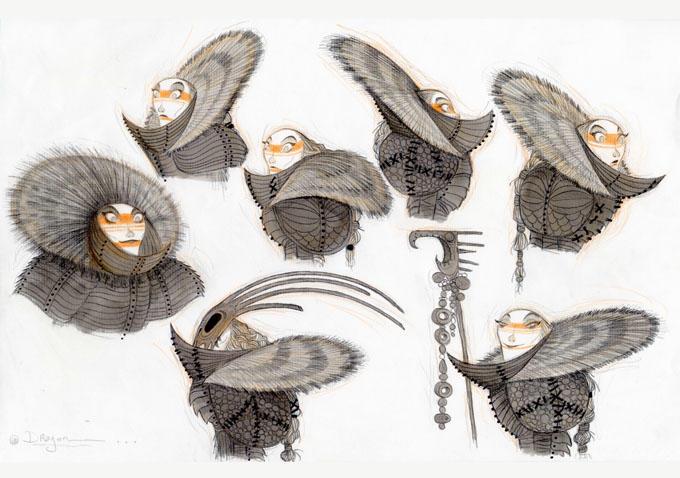 Astrid Hofferson Concept Art