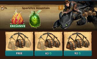 Sparkfire Mountain (Solar Flare)