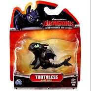 Defenders of Berk Mini Dragons Toothless Night Fury