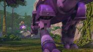 GOH - The mechano dragon going through Thornbane Valley