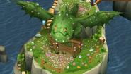 Eruptodon Flower Statue