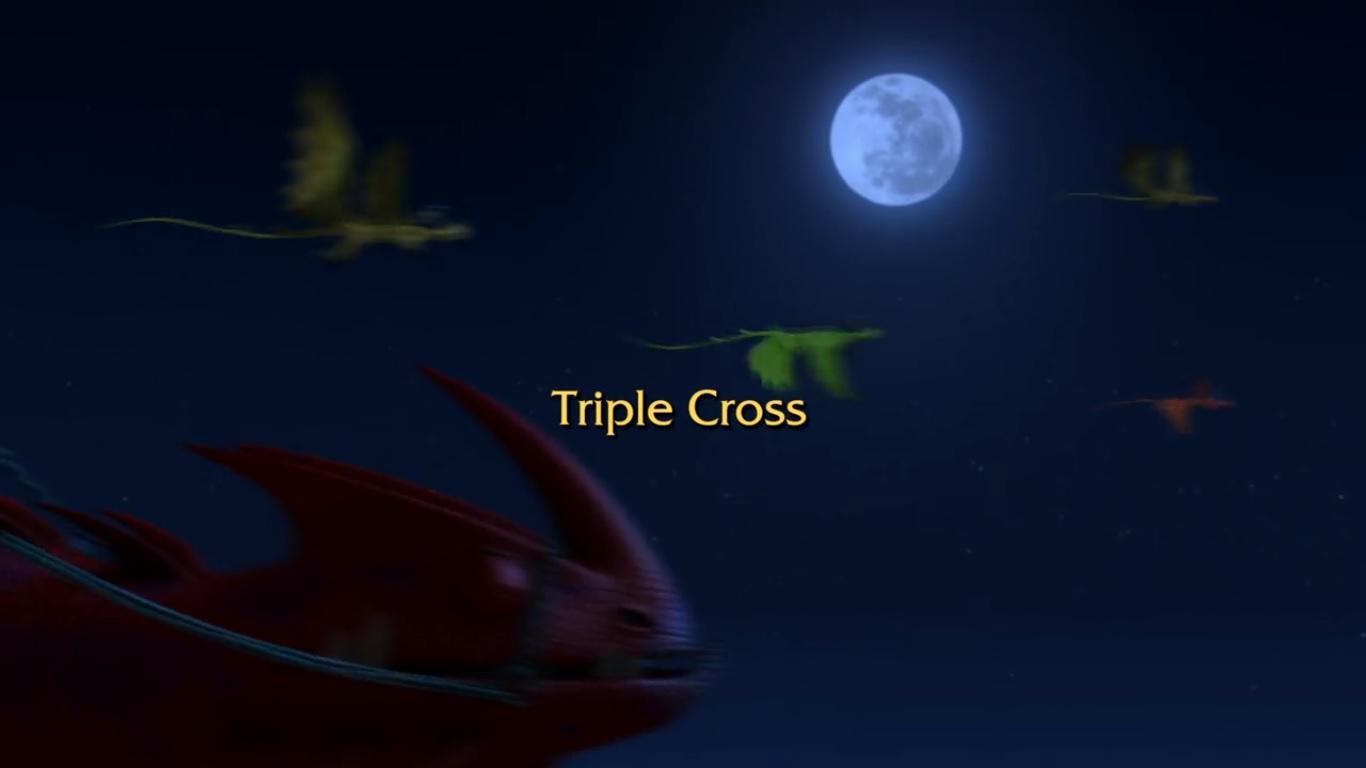Triple Cross title card