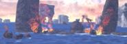 Burning Refugee Ships