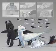 The Art of How to Train Your Dragon The Hidden World - 154