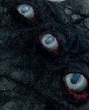 Red death eyes
