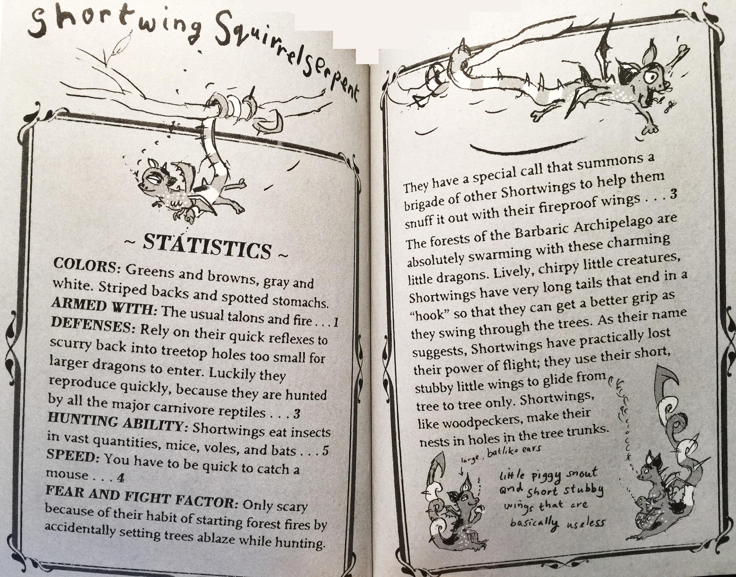 ShortwingSquirrelserpent