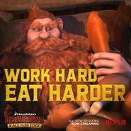 Work hard. Eat Harder