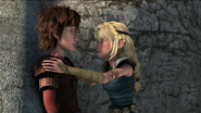Astrid saying Hiccup stop!