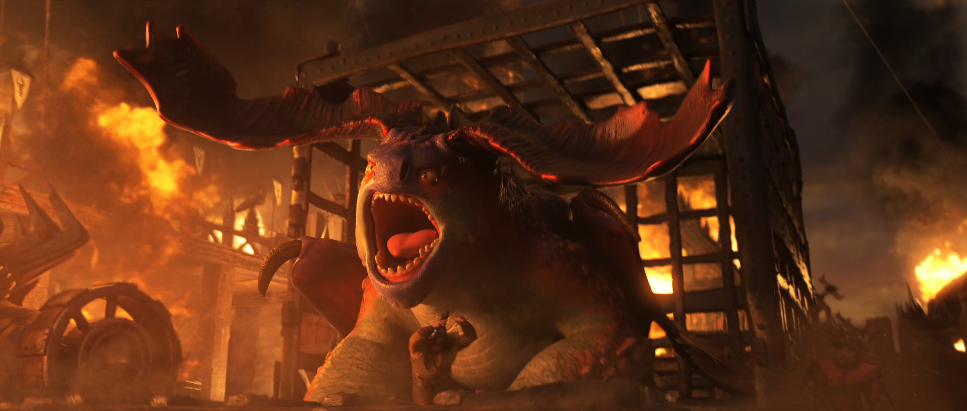 Rescued Crimson Goregutter How To Train Your Dragon Wiki Fandom