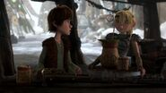 Hiccup Astrid Yaknog