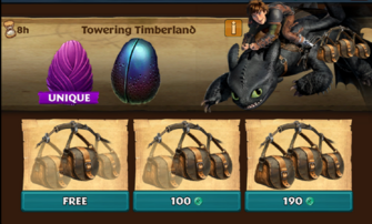 Towering Timberland (Fanghook)