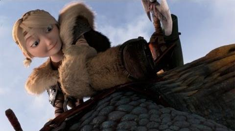 """HOW TO TRAIN YOUR DRAGON 2 - """"Stormfly Fetch"""" Clip"""