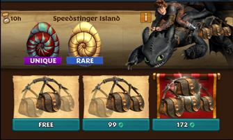 Speedstinger Island