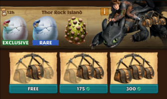 Thor Rock Island