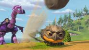 GOh - Cutter having sent the boulder flying