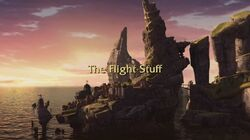 The Flight Stuff title card