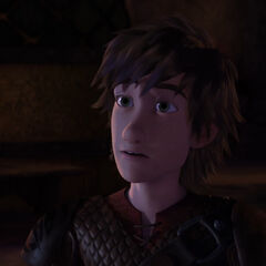 Hiccup asking Stoick if Heather is his sister.