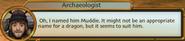Archaeologist Named His Mudraker Muddie