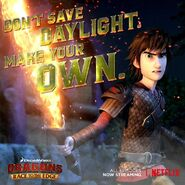 Don't save daylight. Make your own.