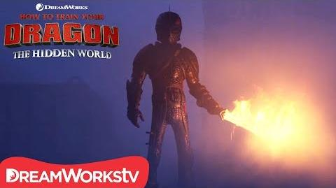HOW TO TRAIN YOUR DRAGON THE HIDDEN WORLD Fireproof Hiccup