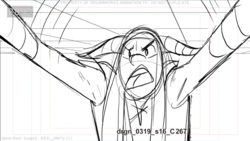 Mi Amore Wing Storyboard 42