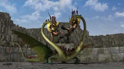 "DreamWorks' ""How To Train Your Dragon"" - Dragon Training Lesson 4 The Hideous Zippleback"
