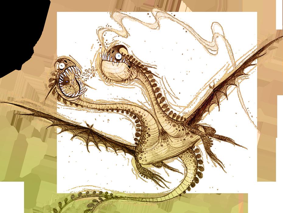Dragons bod zippleback background sketch-1-