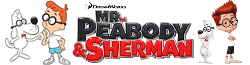 MrPeabody&ShermanWikiWordmark